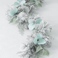 Snowy Pine Eucalyptus Garland