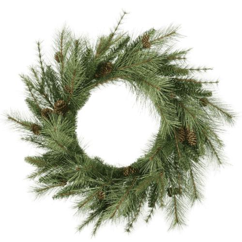 Mixed Pine Cone Wreath