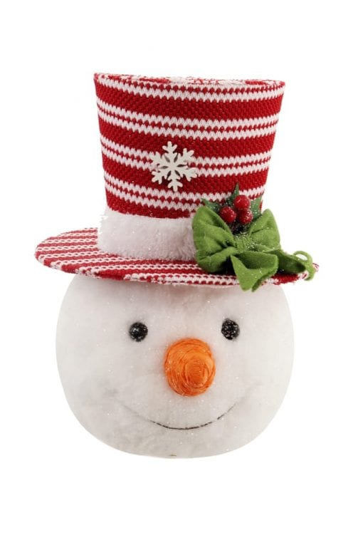 Snowman with Red Hat