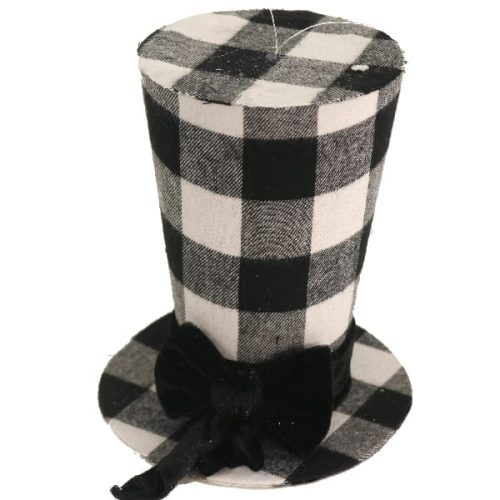 Black Snowman Hat