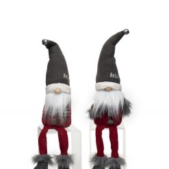 BELIEVE GNOME WITH WIRED SWEATER HAT