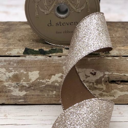 Vintage Glitter Ribbon