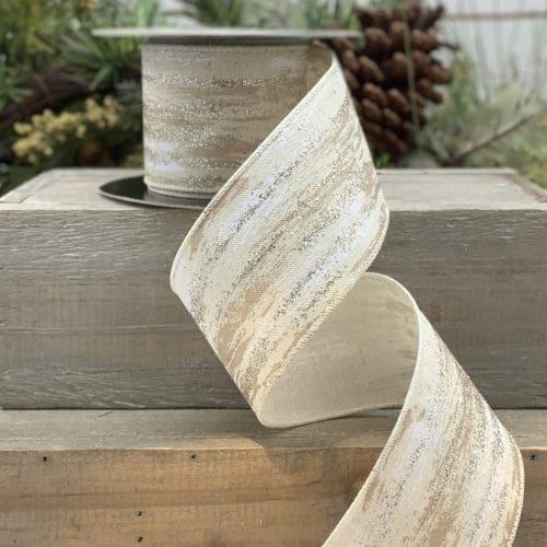 Linen Birch Ribbon