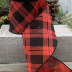 Argyle Linen Ribbon