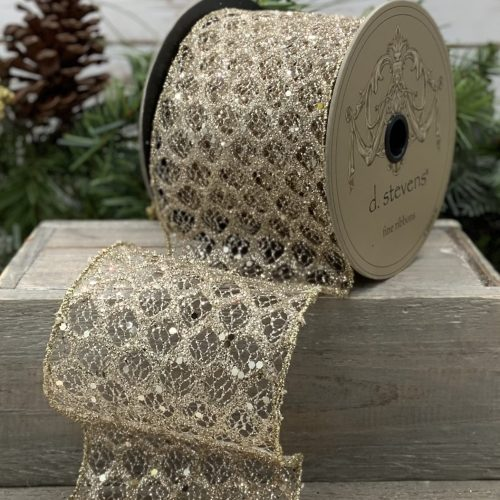 Honeycomb Mesh Ribbon