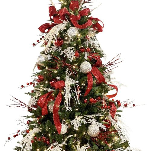 Red & White Christmas Tree Package