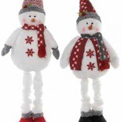 PLUSH WINTER SNOWMAN - SET 2